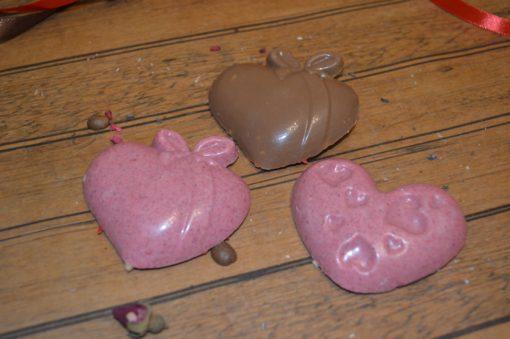 Шоколадная фигура сердце большое, 30 гр.