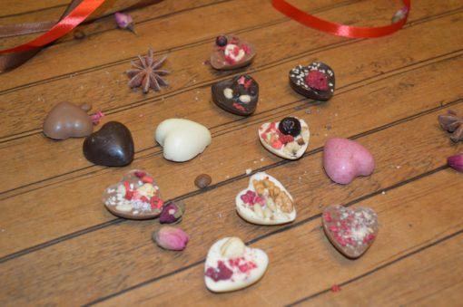 Шоколадная фигура сердце маленькое, 10 гр.