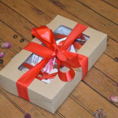 Подарочный набор из трех мини-плиток