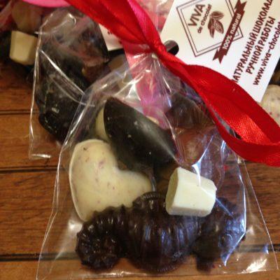 Набор шоколадных фигурок, 40 гр.
