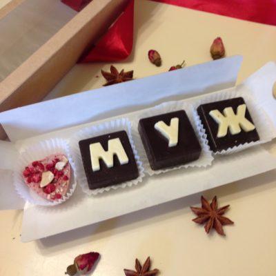 шоколадное послание любимый муж
