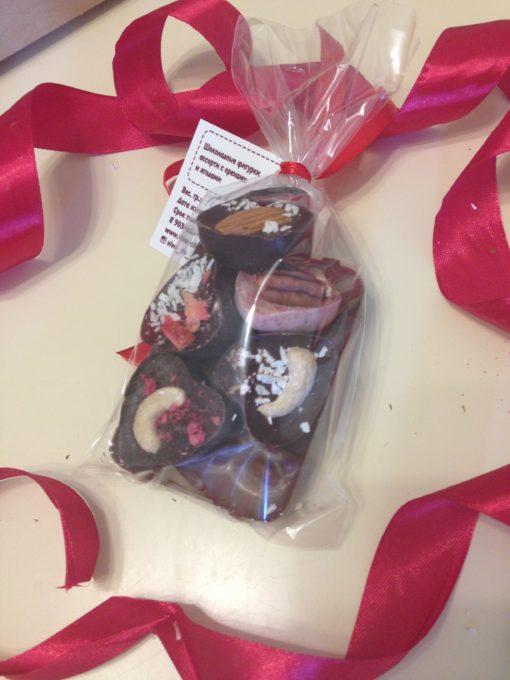 подарочный набор Спасибо с сердечками мини