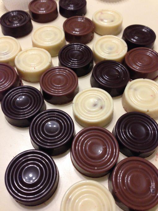 Шашки шоколадные