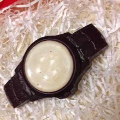 шоколадная фигурка Наручные часы двухцветная