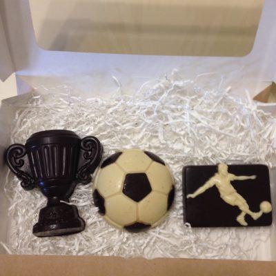 подарочный набор футболиста