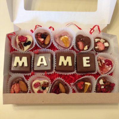 подарочный набор маме с сердечками